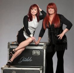 The Judds on tour