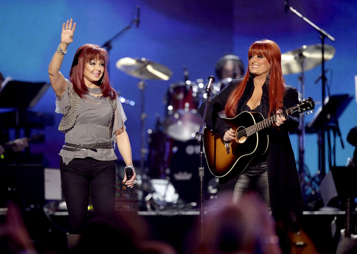 The Judds performing at The Grand Hotel Casino, LV