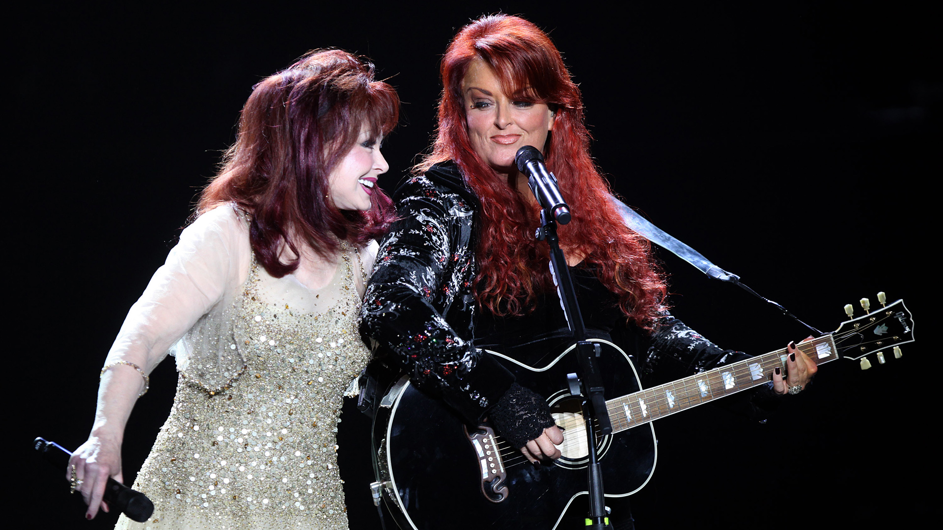 The Judds performing in Mineapolis, Minesota