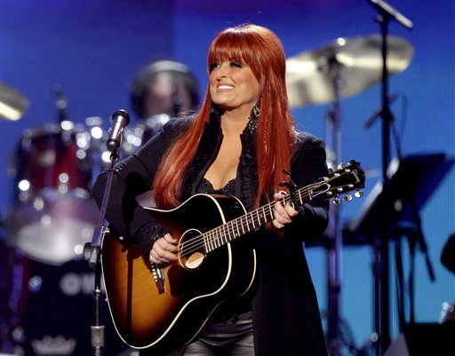 Wynonna during the concert in Berlin.